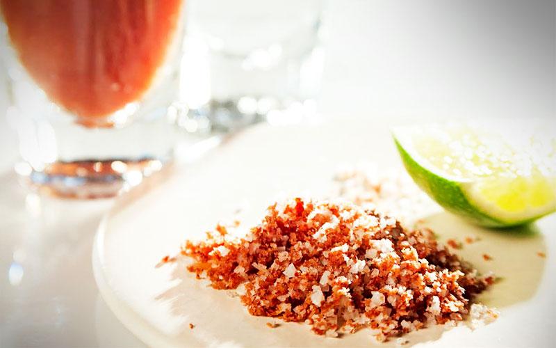 receta tequila con sal de Jamón Consorcio Serrano