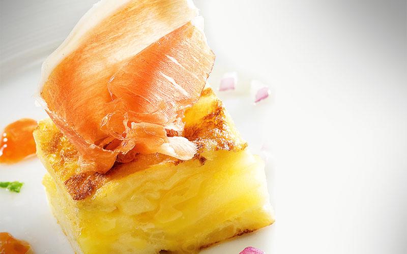 receta tortilla de patatas a la española