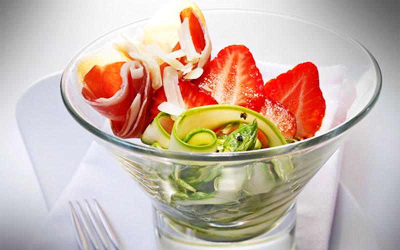 rezepte Spargel-Serrano-Salat